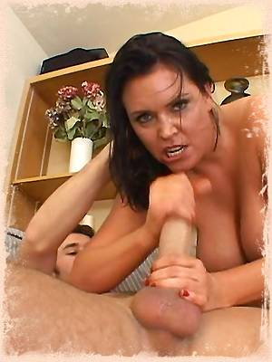 This milf slut fucks her neighbor and takes it in the ass while hubby's away