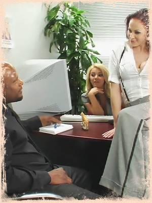 The Office 02 - Ashlynn Brooke, Faye Reagan, Gianna Michaels, Jenny Hendrix, Nika Noire, Sadie West