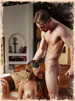 Passions ignite when Presley asks her husband to blindfold her the night of their anniversary.