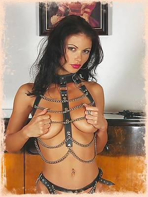 Veronika Zemanova looks hot and ready for bondage sex