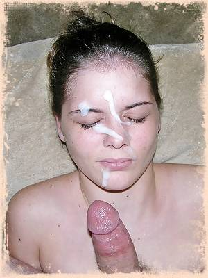 Freckled Face Amateur Teenager Gets A Huge Cum Facial