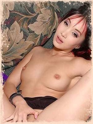 Katsumi takes a cock in one and a toy in the other